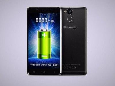 Blackview P2 с аккумулятором на 6000 мАч