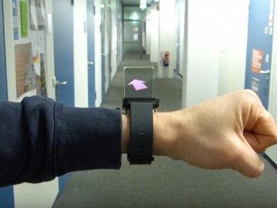 Проект WatchThru объединяет смарт-часы и дополненную реальность