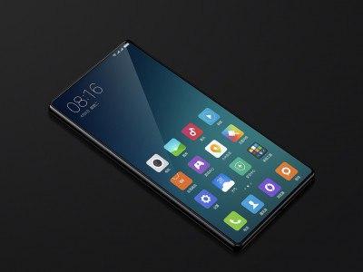 Экран Xiaomi Mi Mix 2 сможет сканировать отпечатки пальцев
