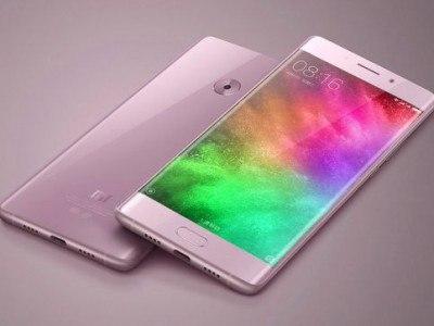 Xiaomi Mi Note 2 в розовом цвете