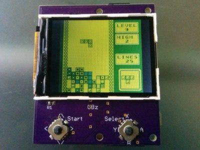 Самая маленькая версия Game Boy Zero