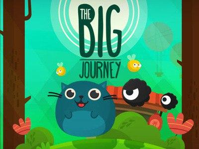Платформер The Big Journey поведает о приключениях кота-обжоры