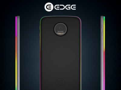 Модуль Edge Force для смартфонов Moto Z оборудован настраиваемой подсветкой