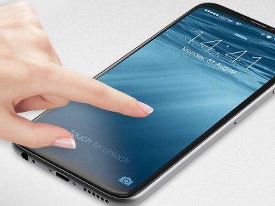 Apple разрабатывает технологию считывания отпечатка пальца без специального датчика