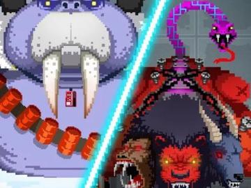Ретро-аркада Evil Factory встретит игрока пиксельными монстрами из секретной лаборатории